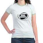 Girlie Fuck Cancer Jr. Ringer T-Shirt