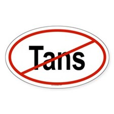TANS Oval Decal