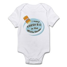 Fresh B.O. Barack Obama Infant Bodysuit