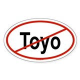 TOYO Oval Decal