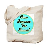 Gone Bananas For Hanna Tote Bag