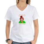 Bobo Women's V-Neck T-Shirt