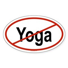 YOGA Oval Decal