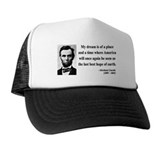 Abraham Lincoln 5 Trucker Hat