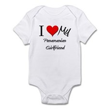 I Love My Panamanian Girlfriend Infant Bodysuit