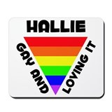 Hallie Gay Pride (#006) Mousepad