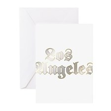 Old School Los Angeles Greeting Cards (Pk of 10)