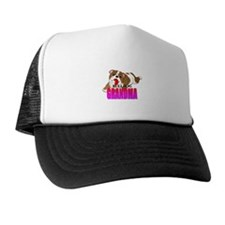 Bulldog Grandma Trucker Hat