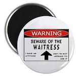 Waitress Magnet