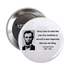 "Abraham Lincoln 15 2.25"" Button"