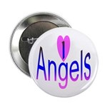 I Love Angels Button