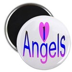 I Love Angels Magnet