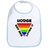 Hodge Gay Pride (#006) Bib