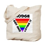 Hodge Gay Pride (#006) Tote Bag