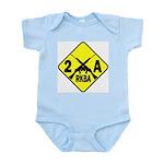 Second Amendment Zone Infant Creeper