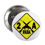 "Second Amendment Zone 2.25"" Button (10 pack)"