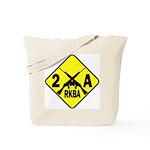 Second Amendment Zone Tote Bag