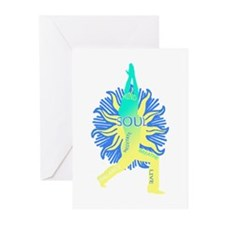 YOGA SOUL Greeting Cards (Pk of 10)