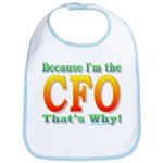 Because I'm the CFO Bib