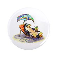 "tRoPiCaL pEnGuIn 3.5"" Button (100 pack)"