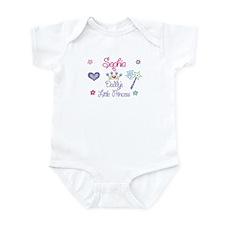 Sophia - Daddy's Little Princ Infant Bodysuit