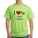 I Love My Kirghiz Girlfriend T-Shirt