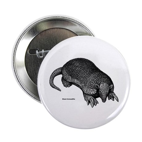 "Giant Armadillo 2.25"" Button (10 pack)"