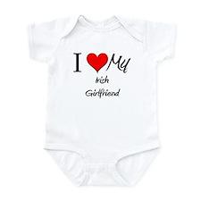 I Love My Irish Girlfriend Infant Bodysuit