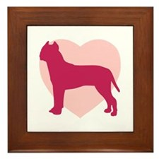 American Staffordshire Terrier Valentine's Day Fra
