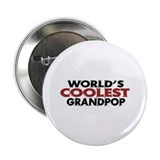 "World's Coolest Grandpop 2.25"" Button (10 pack)"