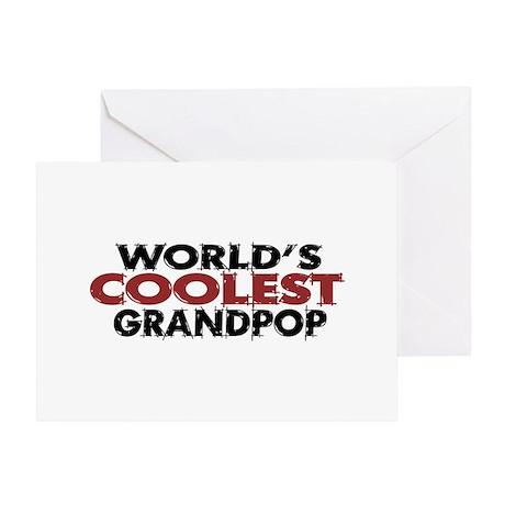World's Coolest Grandpop Greeting Card