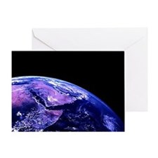 Planet Earth Greeting Card
