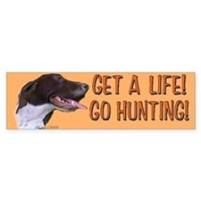 German shorthair Bumper Bumper Sticker