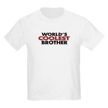 World's Coolest Brother Kids Light T-Shirt