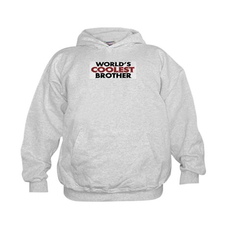 World's Coolest Brother Kids Hoodie