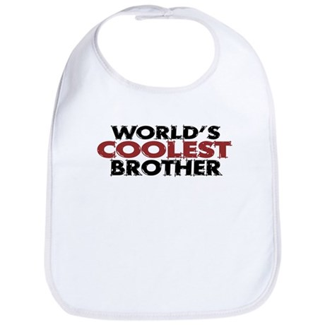 World's Coolest Brother Bib