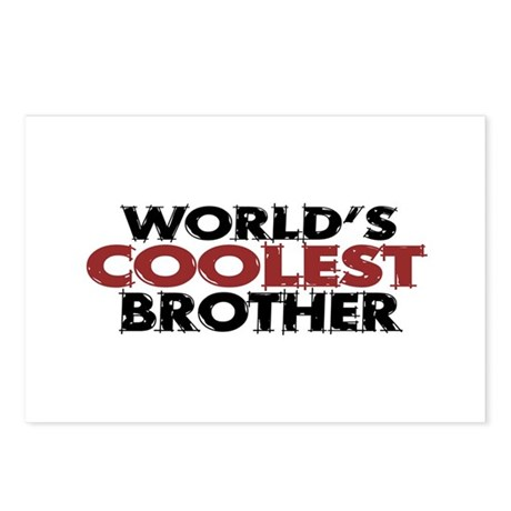 World's Coolest Brother Postcards (Package of 8)