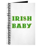 IRISH BABY (Celtic font) Journal