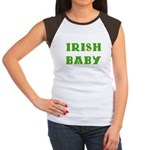 IRISH BABY (Celtic font) Women's Cap Sleeve T-Shir