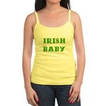IRISH BABY (Celtic font) Jr. Spaghetti Tank