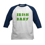 IRISH BABY (Celtic font) Kids Baseball Jersey