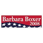 Barbara Boxer 2008 (bumper sticker)