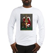 Vintage French Wine Poster Long Sleeve T-Shirt