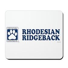 RHODESIAN RIDGEBACK Mousepad