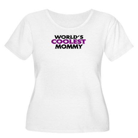 World's Coolest Mommy Women's Plus Size Scoop Neck