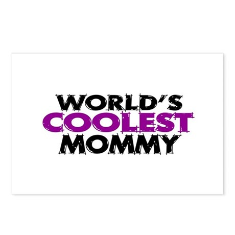 World's Coolest Mommy Postcards (Package of 8)
