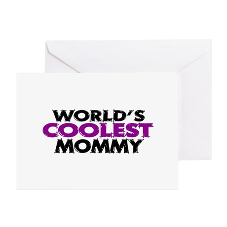 World's Coolest Mommy Greeting Cards (Pk of 10)