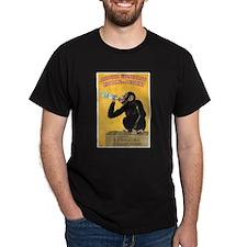 Monkey Liquor Poster (Front) T-Shirt