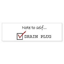 Note to self... Check drain plug