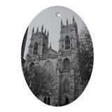 York Minster Oval Ornament